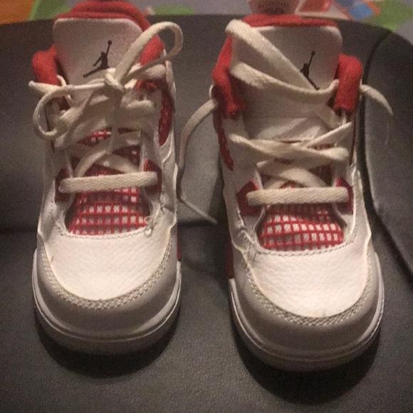 sale retailer 5229f a9822 Toddler Michael Jordan tennis shoes SZ 8 boys